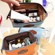 Cotton Multifunction Makeup Organizer Bag Women Cosmetic Bags Necessery Box Female Tote Travel Bag H