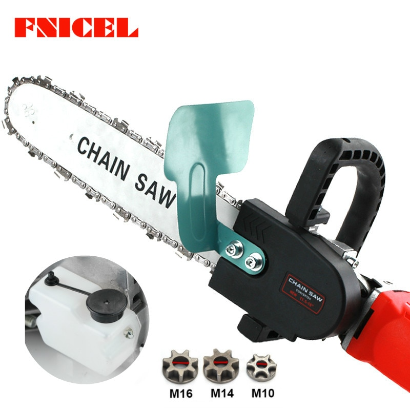 Upgrade 11.5inch Electric Chainsaw Bracket Adjustable Universal M10/M14/M16 Chain Saw Part Angle Gri