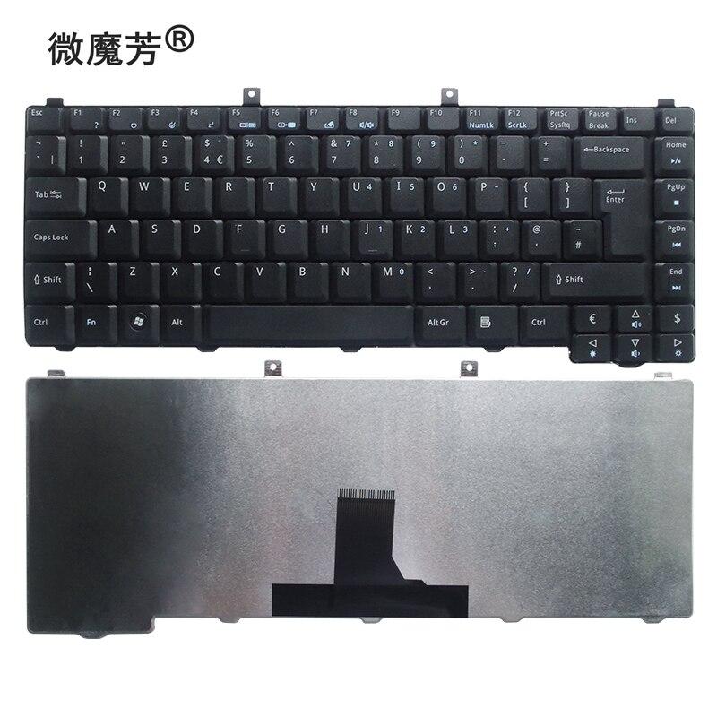 Nos nuevo inglés reemplazar teclado del ordenador portátil para Acer 5585, 5670,...