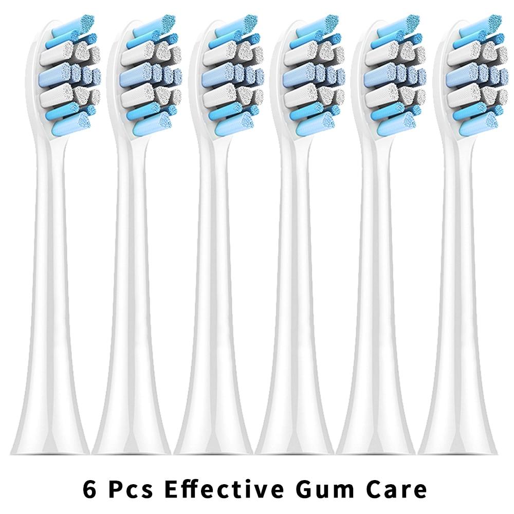 6 Pcs Toothbrush Heads For Philips Sonicare 2 series hx6232 Philips Diamond Clean Sonicare Flexcare HX6730 HX6062 HX6920 HX6074 enlarge
