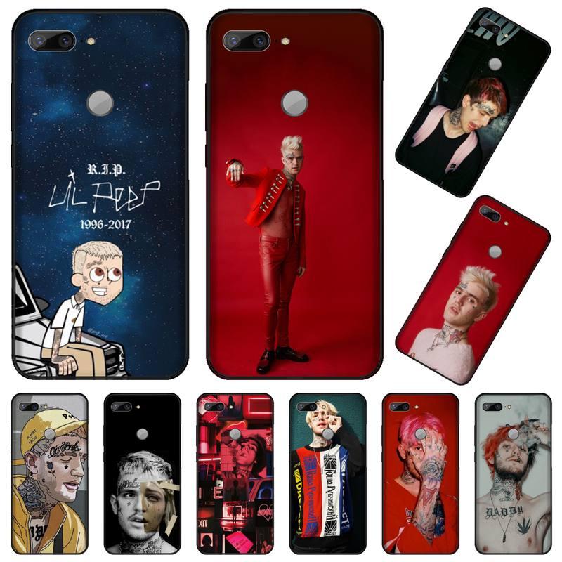 Funda de teléfono de diseño único de lujo Gustav AHR USA Lil Peep singer para Huawei Honor 7C 7A 8X 8A 9 10 10i Lite 20 NOVA 3i 3e