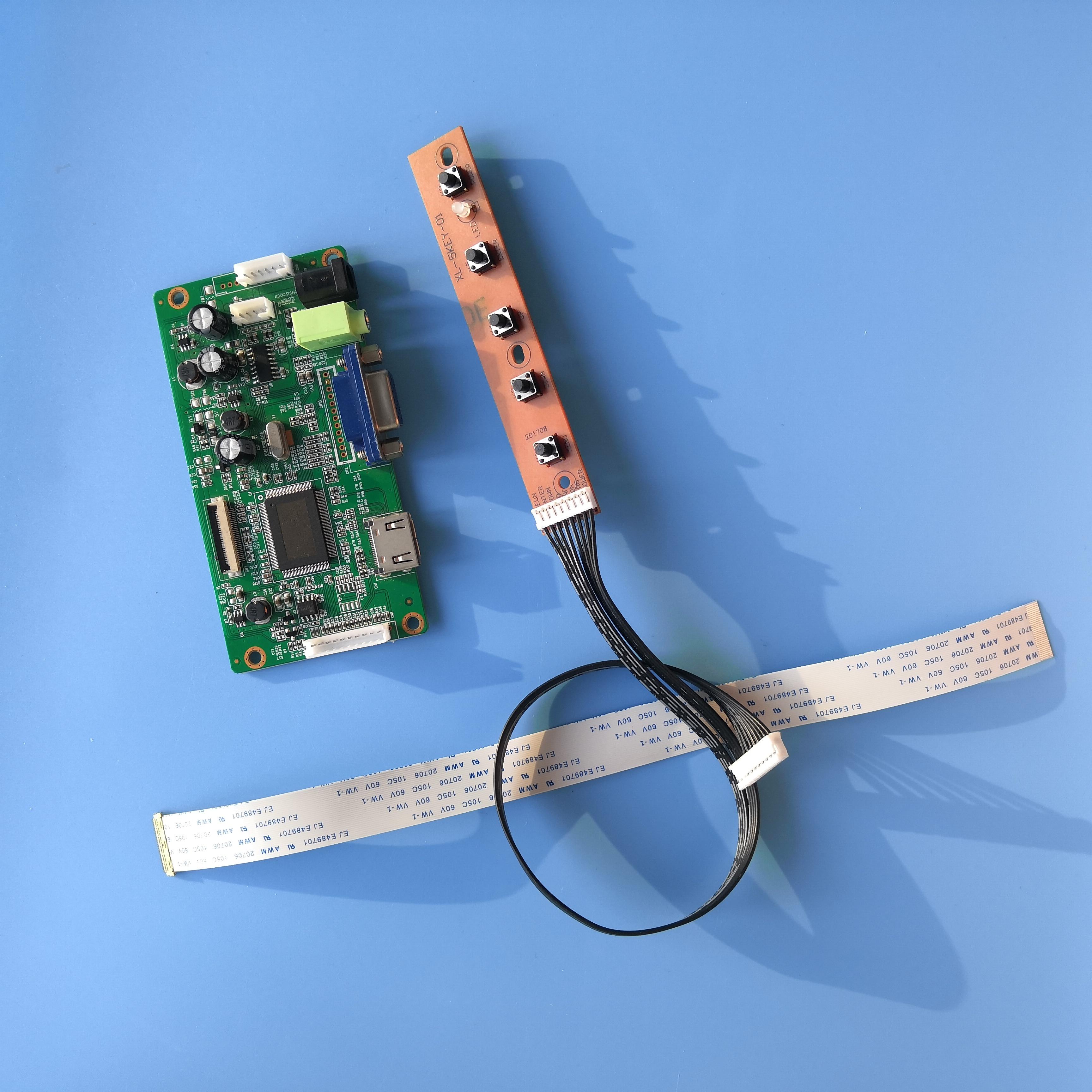ل N156HGA-EA3 LCD EDP شاشة شاشة عرض تحكم مجلس عدة VGA 30Pin لتقوم بها بنفسك سائق 1920 × 1080 15.6