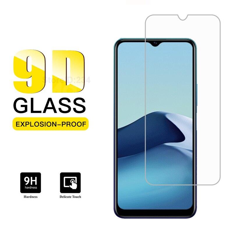 Para vivo y20i vidro temperado protetor de tela 9h resistente a riscos película de vidro protetora para vivo y20i y20i v2027 pelicula de vidro