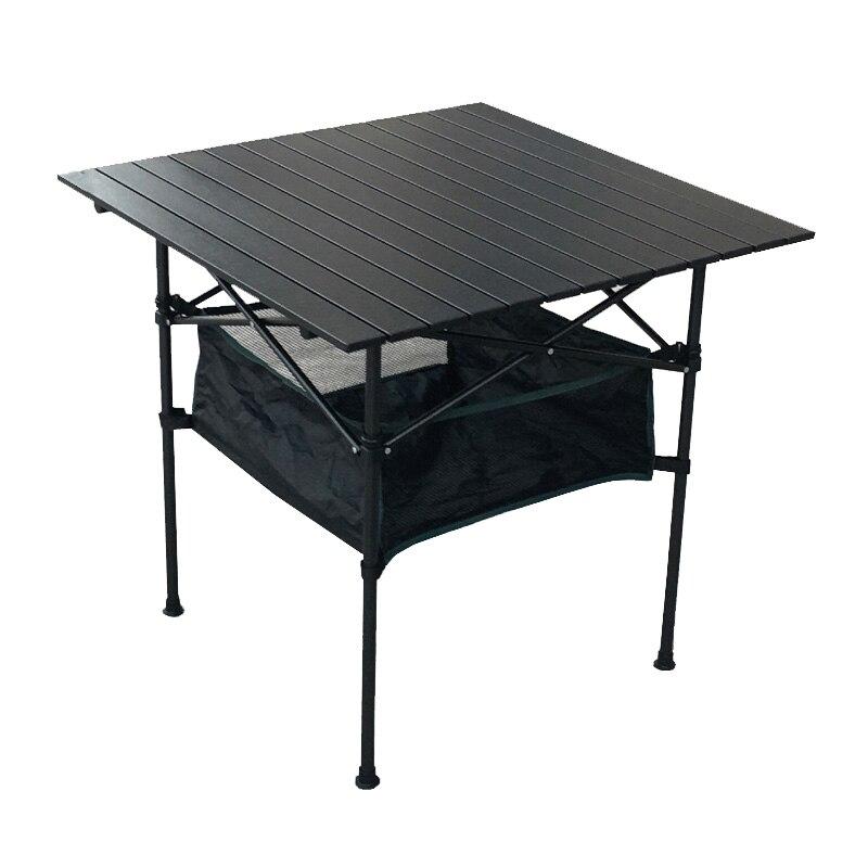 Mesa Plegable portátil de aluminio para exteriores, Mesa de puesto, playa, Camping,...
