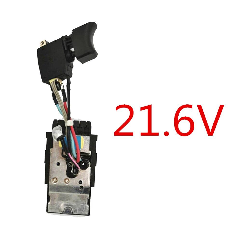 1 * interruptor 21.6V Interruptor Para Hilti SF22-A SFH22-A SIW22T-A SF10W-A22 Melhoria Home SF22A SFH22A SIW22TA SF10WA22 SF6A22