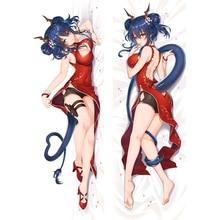 MGF-taie doreiller à câliner   Original, Anime arknight Chen, taie doreiller Dakimakura