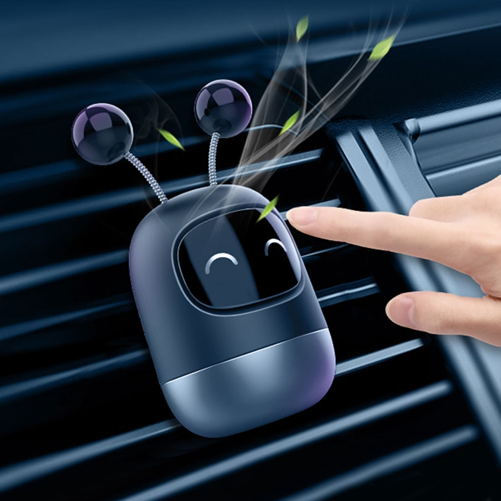 Mini Car Air Freshener Fragrance Clip Air Vent Clip Aroma Diffuser with Cologne/Lemon/Ocean Scented