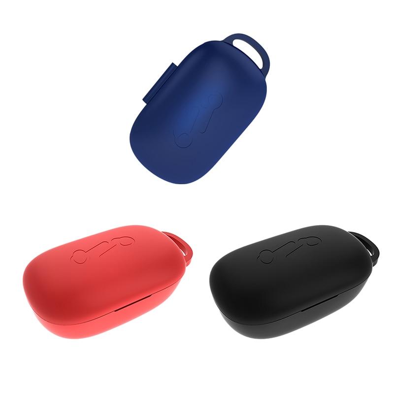 IG-nueva carcasa de silicona mejorada para Anker Soundcore Life P2 TWS, funda protectora para auriculares Anker Soundcore Life P2 azul
