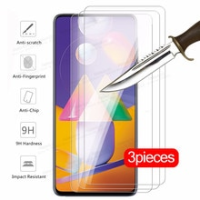 3 piece tempered Glass For samsung galaxy m31s m01 m11 m21 m31 m51 sumsung m 31s 31 11 01 21 51 scre
