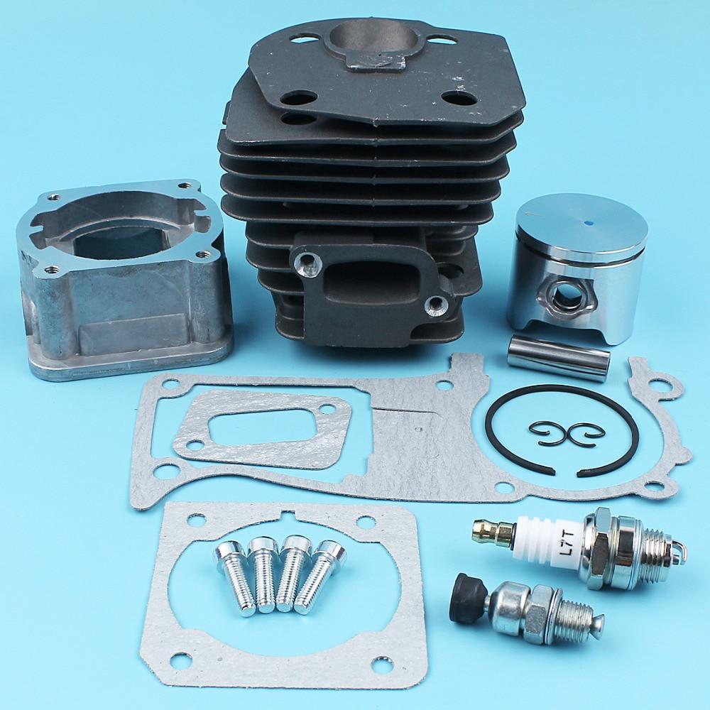 engine 4bd1t full gasket kit for hitachi ex120 2 ex120 3 excavator Haishine 44mm Cylinder Piston Engine Pan Gasket Valve Kit For Husqvarna 340 350 345 Chainsaw Decompression Valve Carb Gasket