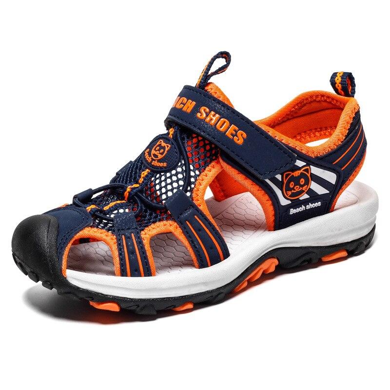 2020 New Children's Summer Beach Sandals Fashion Boys Shoes non-slip Students Shoes Fashion Kids Sandals for Boys Euro 28~38