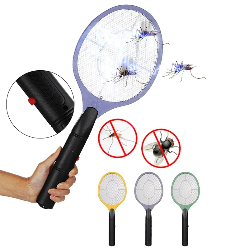 Draadloze batterij aangedreven elektrische vliegenmuggenmepper bug - Tuinbenodigdheden - Foto 2