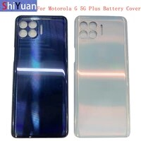 back battery cover rear door panel housing case for motorola moto g 5g plus battery cover replacement part