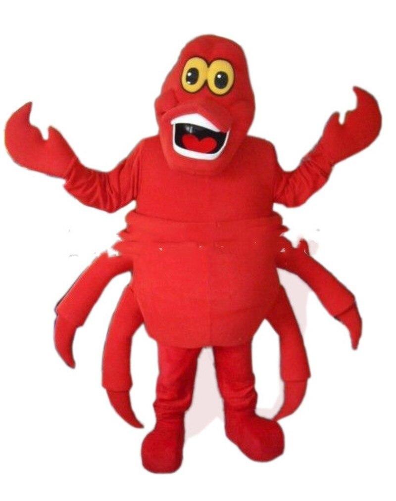 Fête dhalloween la petite sirène crabe mascotte Costume costumes Cosplay tenue de fête Fursuit intéressant vêtements dessin animé