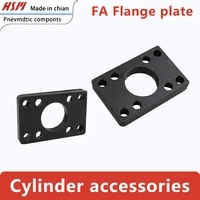 the fa flange plate of pneumatic cylinder fittings is used to install sc diameter 3240506380100125160200250320