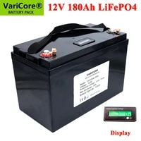 12v 180ah lifepo4 battery 12 8v 4s lithium battery 4000 cycles for eve batteries not 200ah rv campers golf cart eu us duty free