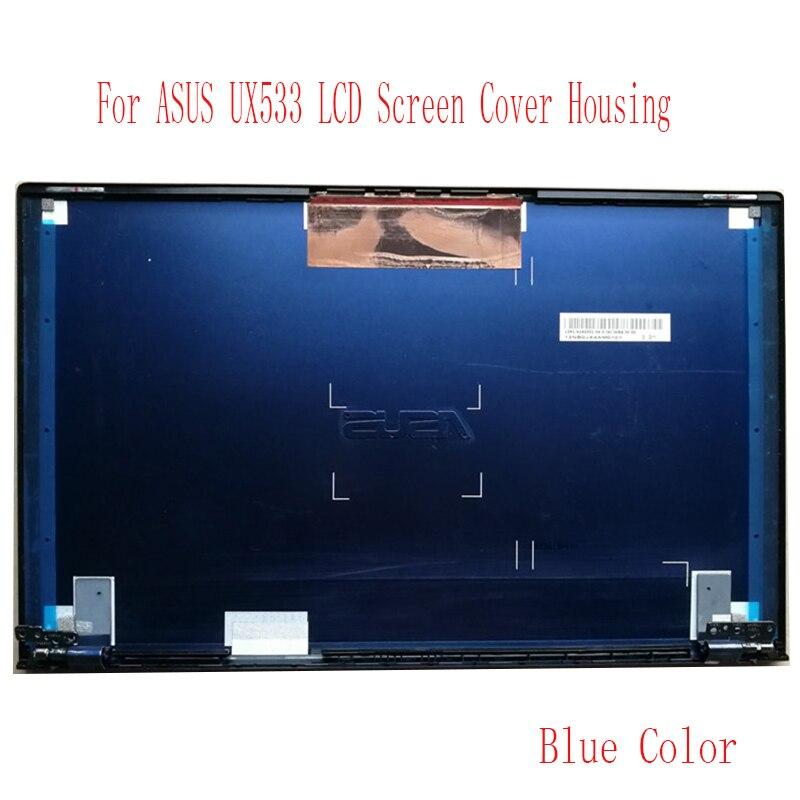 ل ASUS ZenBook UX533 UX533FD UX534 حافظة علوية لون أزرق شاشة lcd غطاء عرض (وليس شاشة lcd)