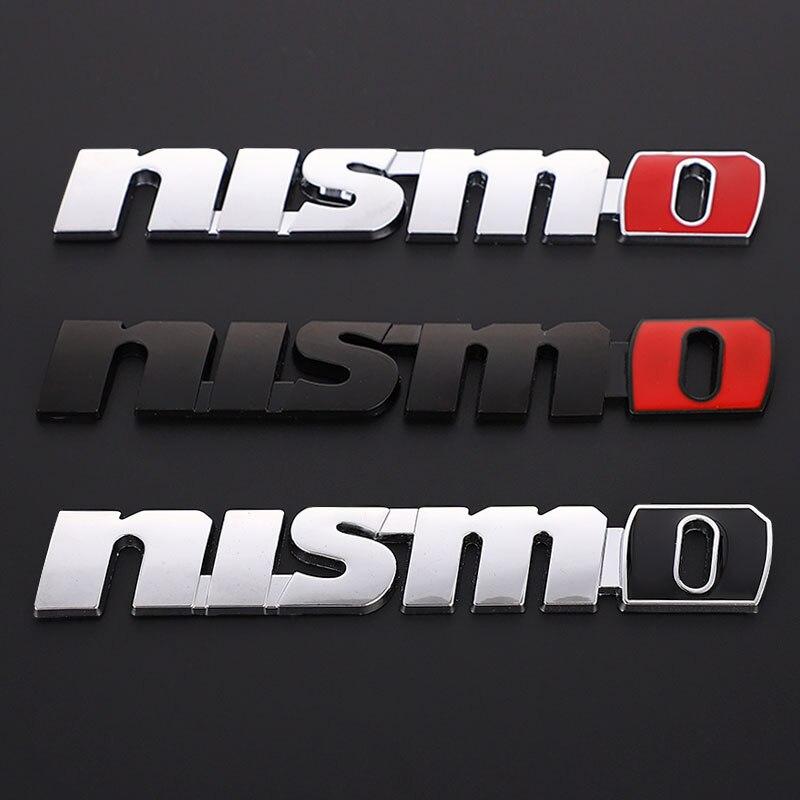 3D металлические наклейки на автомобиль наклейка на багажник эмблемы для Nissan Nismo Tiida Teana Qashqai Juke X trail Note Almera Skyline Sunny