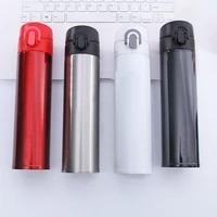 500ml business vacuum flask with filter stainless steel tumbler portable insulated cup thermos bottle coffee travel mug dropship