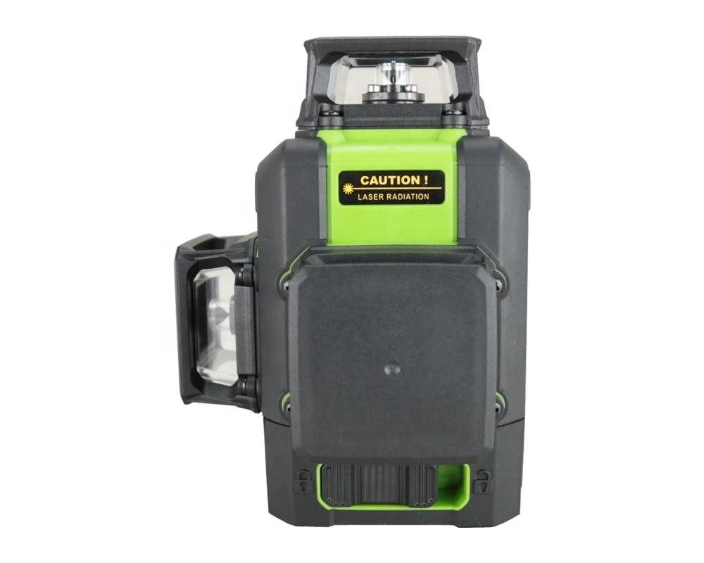 360 degree Rotary cross line nivel laser 12 lines laser line leveler green beam 3D laser level enlarge
