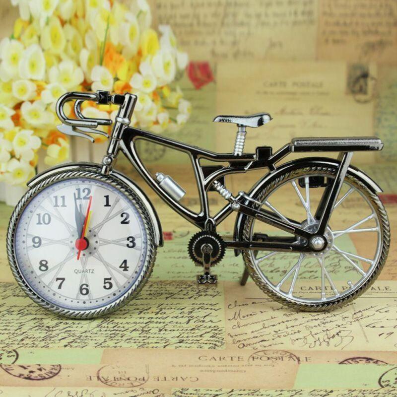 Reloj despertador de cuarzo para bicicleta de Motor, reloj despertador, reloj de sala de tiempo, niños, regalo, adorno Tisch, reloj Wohndeko, regalo, regalo