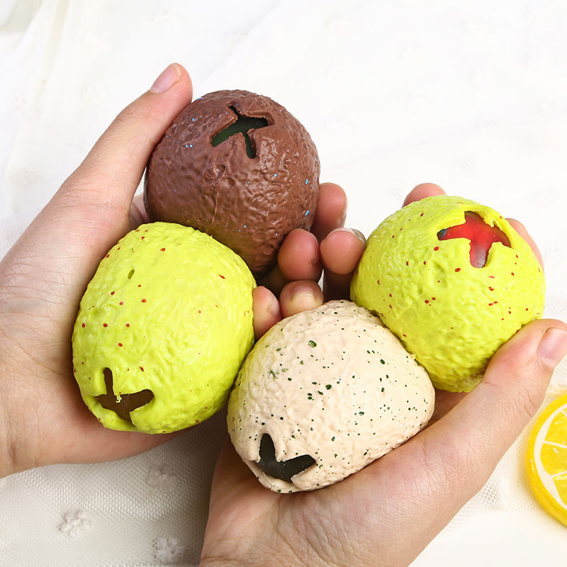 Children's toys resistance compression toys stress relief toys Decompression ball vent ball dinosaur egg squeeze artifact toys enlarge