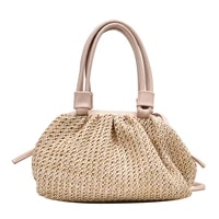 summer special offer real weave bags for women 2020 small tote bag crossbody shoulder handbags beach cross body flap single