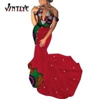 2021 african dashiki dress women maxi dress with beautiful pearl long dress bazin vestidos dashiki for africa traditional wy5237