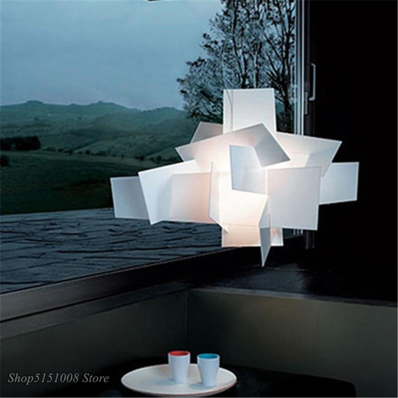 Modern Foscarini Pendant Lights Hanging Lamps White Acrylic Lamps Nordic Creative Dining Room LED Home decor Lighting Luminarias