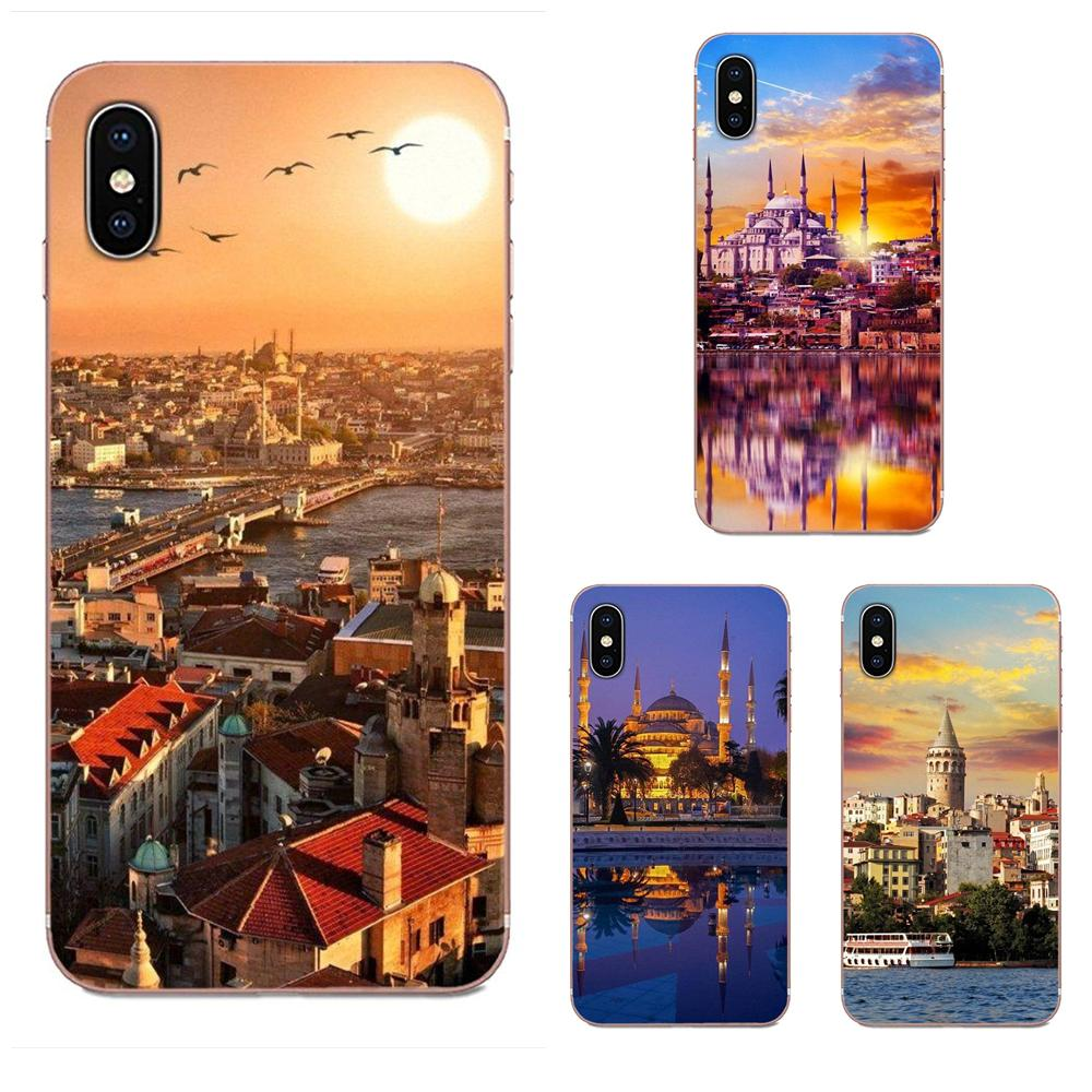 Bandera de tipografía de Turquía Estambul para Huawei Nova 2 V20 Y3II Y5 Y5II Y6 Y6II Y7 Y9 G8 G9 GR3 GR5 GX8 primer 2018 de 2019