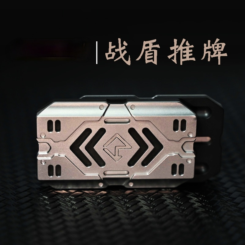 Battle Shield Pusher Egg Pop Coin Stainless Steel Magnetic Adult Discount Decompression Toy EDC Pre-Sale Delivery on July 3
