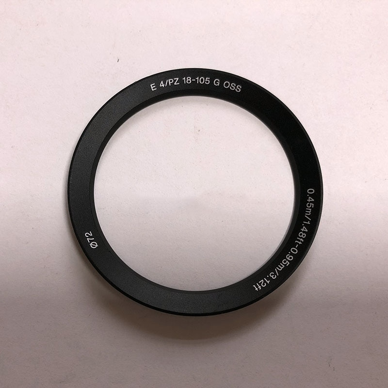 Anillo de nombre delantero piezas de reparación para Sony E PZ 18-105mm f/4,0G OSS SELP18105G lente