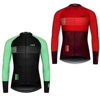 outdoor design cycling jersey long downhill mtb shirt mountain racing bycycle for men clothing ride top sports wear bike jacket