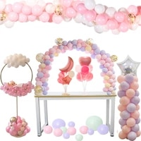 wedding decorations balloons arch holder column stand for birthday party decorations party kids favors baby shower supplies