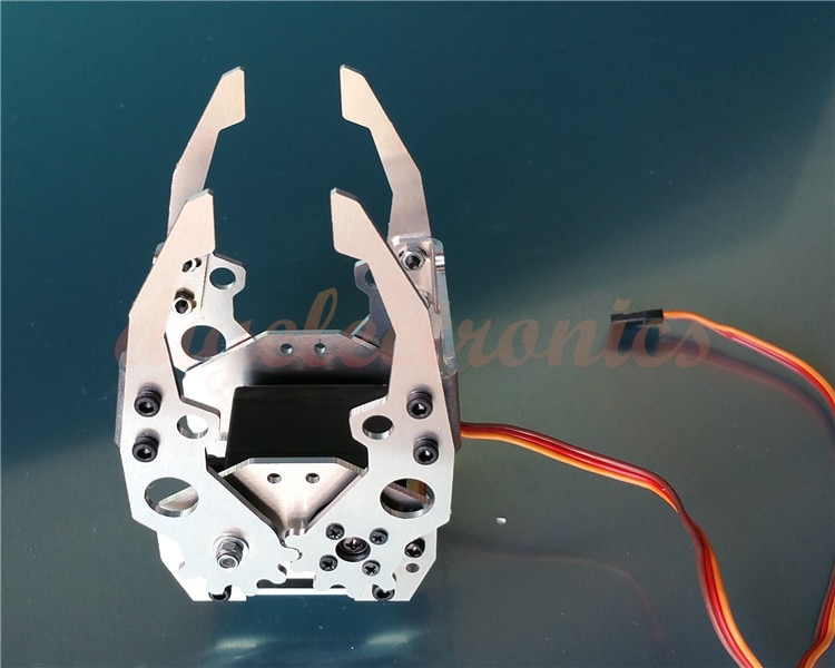 Liga de alumínio Braço Robótico Manipulador Garra Grampo Garra Mecânica Com MG996R DS3218 Acessórios Modelo RC Engrenagem Servo
