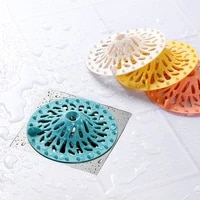 sink sewer floor drain cover shower drain strainers bathtub stopper basin plug filter cover hair catchers bathroom accessories