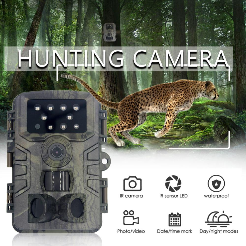 PR700 Hunting Trail Camera Wildlife Camera With Night Vision Motion Activated Outdoor Trigger Wildlife Scouting 20MP 1080P