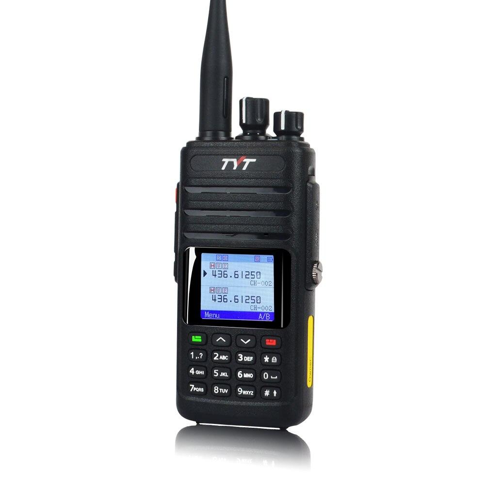 جهاز اتصال لاسلكي محمول ثنائي النطاق مقاوم للماء ، 10 واط ، IP67 ، FM ، GPS ، راديو ثنائي الاتجاه ، تناظري VOX DTMF ، 256CH ، VHF/UHF