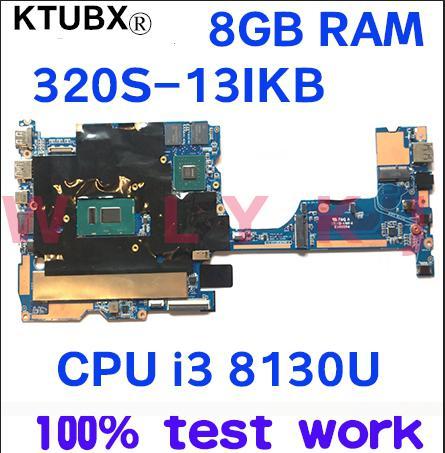 1701A_05_01 V13 320S-13 Für Lenovo 320S-13IKB notebook motherboard CPU i3 8130U GPU MX150 2GB RAM 8GB 100% test arbeit