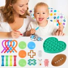 Ensemble de jouets sensoriels pour enfants et adultes, soulage le Stress, lanxiété et lautisme, 1 ensemble