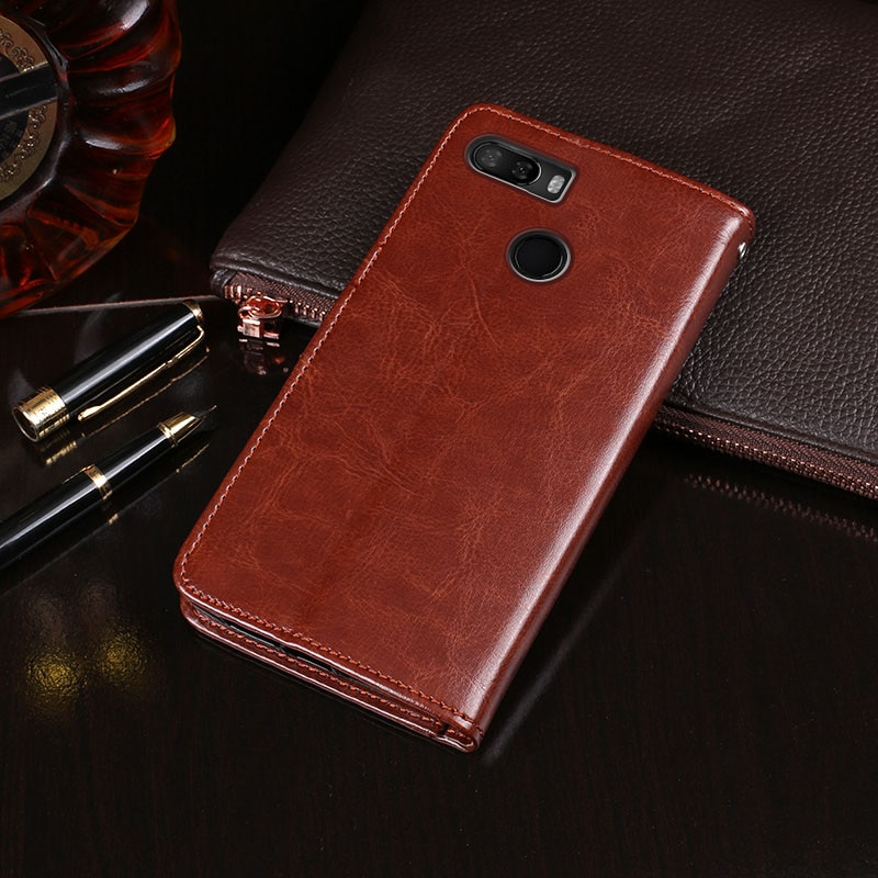 Para lenovo k5 caso do jogo 5.7 business business negócios flip carteira de couro caso telefone fundas para lenovo k5 play l38011 capa acessórios