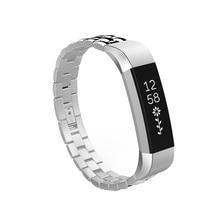 HFES Bracelet intelligent Bracelet Bracelet de montre remplacement pour Fitbit Alta argent