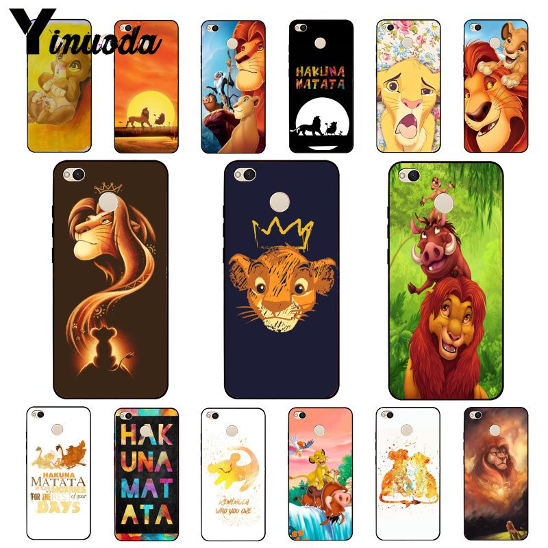 Yinuoda El Rey León teléfono caso para Xiaomi mi5 6 A1 A2 Lite Mi9 9SE mi8lite 8explorer teléfono móvil F1