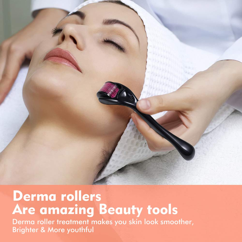 Skin Care Tool Micro Needle 540 Derma Roller Instrument For Face Body Skin Beauty Titanium Microneedle Mezoroller Microneedling