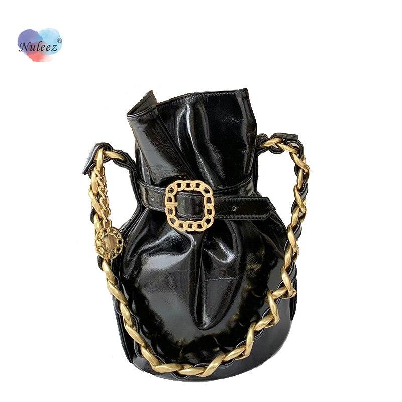 Женская сумка из воловьей кожи с воском, на одно плечо