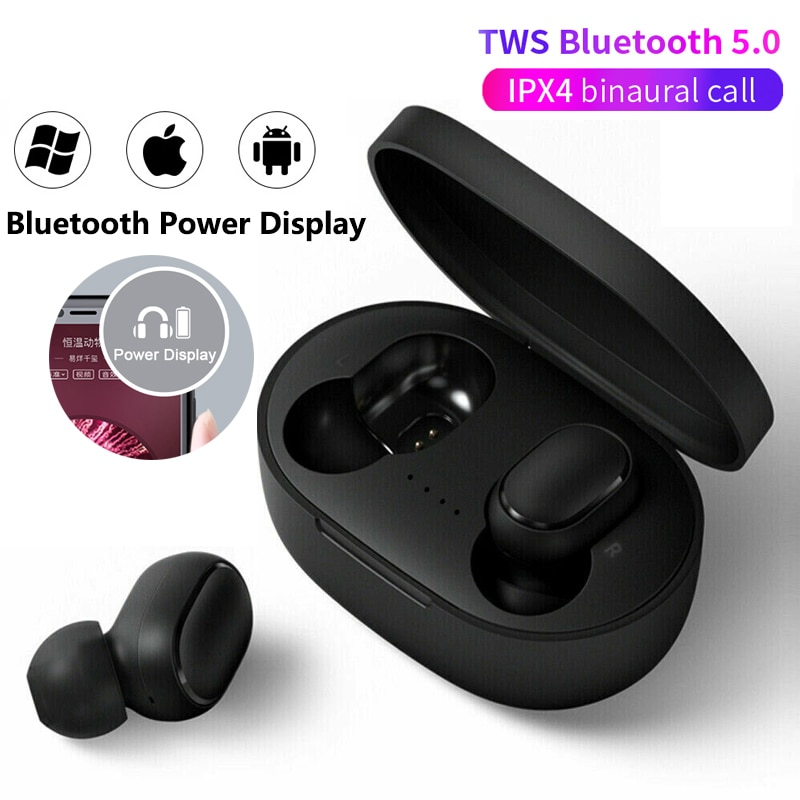 5.0 Earphone sport Earbuds Headset With Mic For Xiaomi Samsung Huawei LG smartphone pk a6s A6S Pro TWS Wireless Bluetooth enlarge