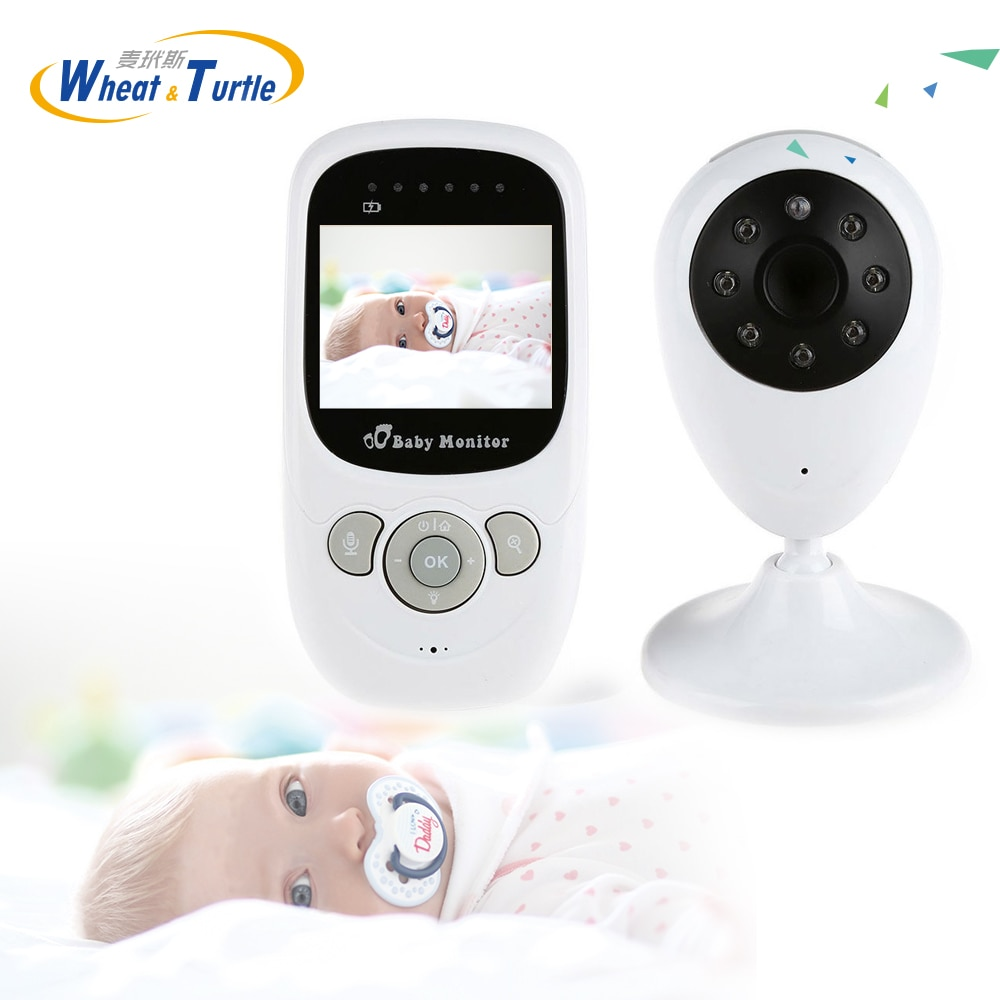 Wireless Infant baby sleep monitor With IP Camera Radio Babysitter Digital Video Night Vision Temperature Display Radio E-Nanny
