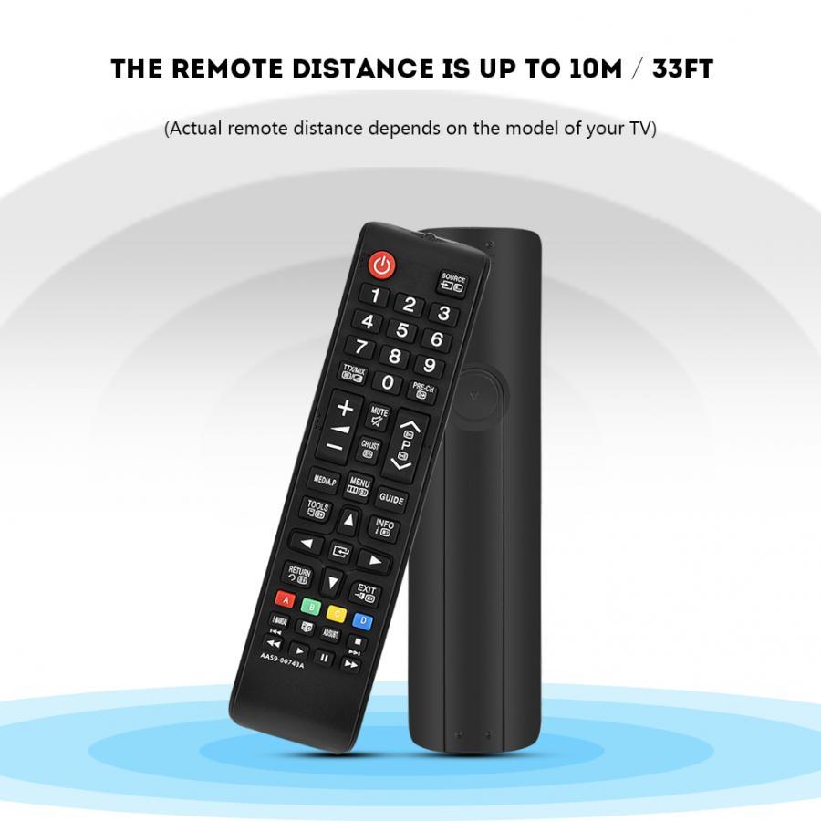 Controle remoto Fosa Ersatz Fernbedienung Controller für Samsung TV AA59-00743A AA59-00607A kumanda