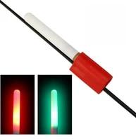 night fishing electronic light stick clip on telescopic rod waterproof glowing lamp luminous float fishing accessories b456