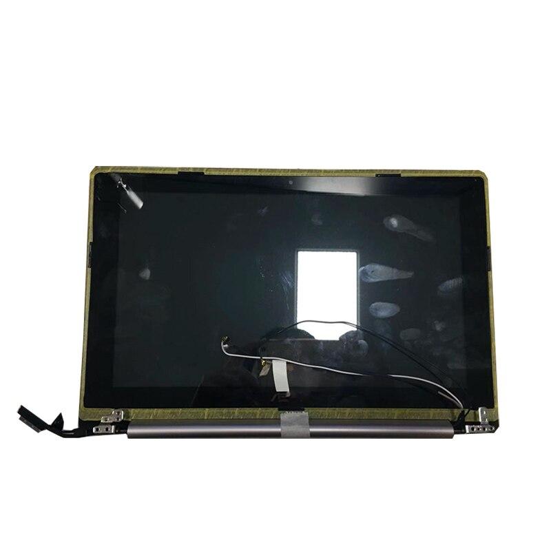 شاشة لمس LCD مع شاسيه ، 11.6 بوصة ، لجهاز ASUS X202E ، تجميع X202 ، S200 ، S200E